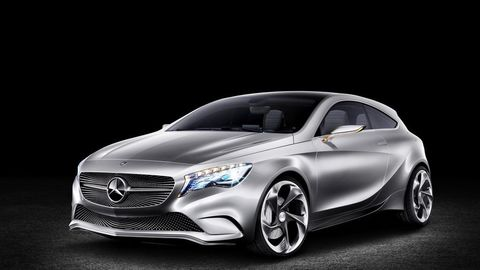 Mercedes Classe A Concept : l'Audi A3 va trembler