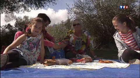 """La """"merendella"""", pique-nique géant en Corse"""