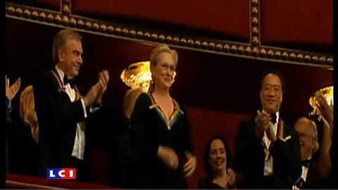 Meryl Streep distinguée par Barack Obama