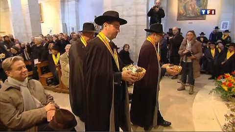Messe de Saint-Antoine : des truffes à la quête au lieu de pièces