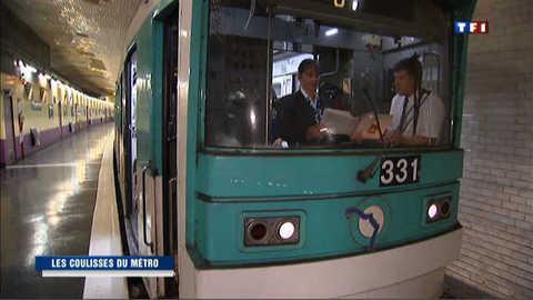 Le métro parisien, côté coulisses