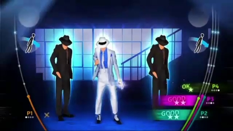 Michael Jackson The Experience - Smooth Criminal Gameplay - Wii
