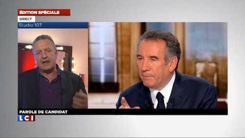 """Michel Field décrypte """"le style Bayrou"""" dans Parole de candidat"""