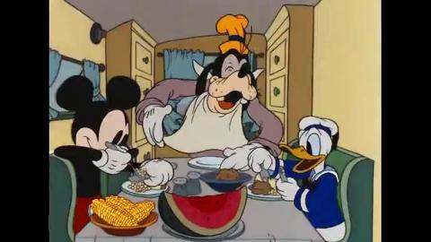 Mickey Trop Drôle - La Remorque de Mickey - Français