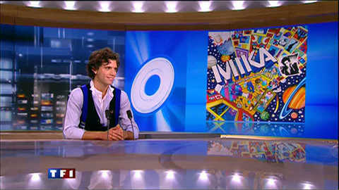 """Mika au 20h : """"j'ai décidé d'être décomplexé"""""""