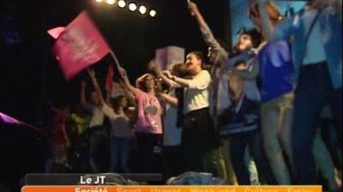 Les militants PS fêtent la victoire au Transbordeur