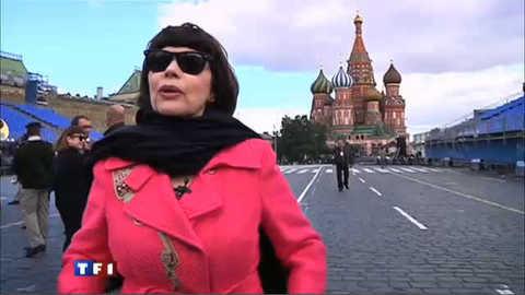 Mireille Mathieu, superstar en Russie