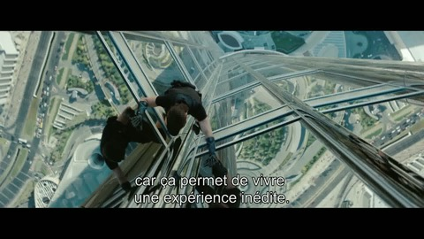 "Mission:Impossible Protocole Fantôme - Making-of ""IMAX"" VOST"