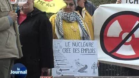 Mobilisation des anti-nucléaire à Tours