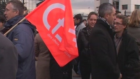 La mobilisation des salariés de Sanofi-Aventis (Toulouse)