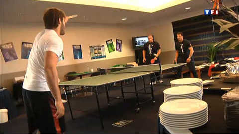 Mondial de rugby : les Bleus détendus avant d'affronter les All Blacks