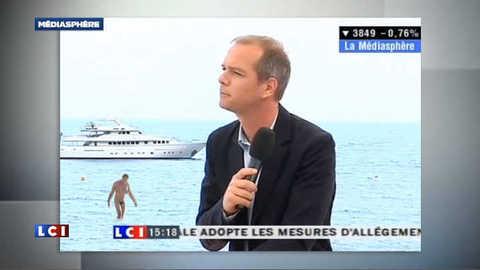 Le monsieur tout nu de La Redoute s'invite dans La Médiasphère