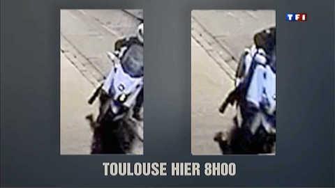 Montauban et Toulouse : les premières images du tueur