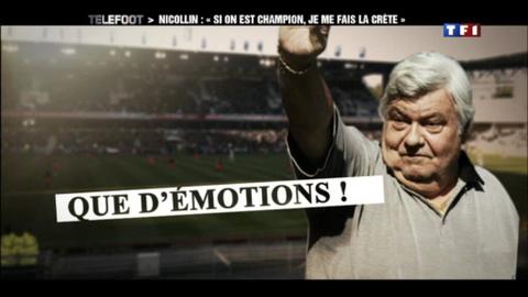 """Montpellier - Nicollin : """"Si on est champion, je me fais une crête !"""" (15/04/2012)"""