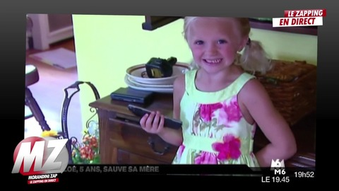 Morandini zap : à 5ans elle sauve sa mère qui s'étouffe avec une chips