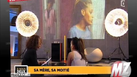 Morandini zap : Amel Bent en pleures en parlant de sa mère