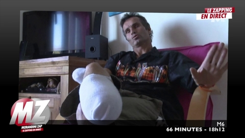 Morandini Zap : Attaqué par un requin cet été il perd un bras et une jambe