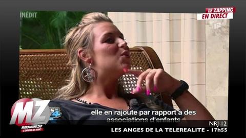 Morandini zap : Aurélie (Les Anges) s'en prend violemment à Marie qui pleure