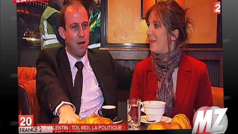 Morandini zap : Aurore, militante à l'UMP, est en couple avec Nicolas militant au PS