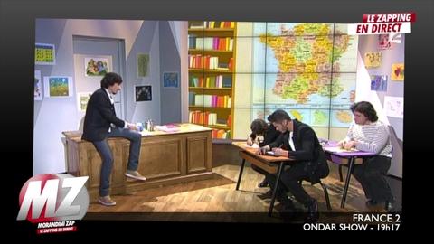 Morandini Zap : Baptiste Giabiconi dans le ONDAR SHOW