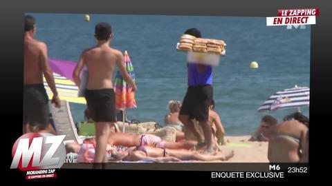 Morandini zap : beignets vendus sur la plage, comment sont-ils conservés?...