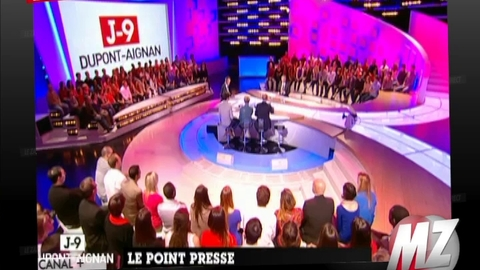 Morandini zap : clash Dupont-Aignan/Apathie/Denisot