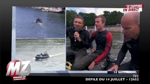 Morandini zap : Denis Brogniart saute d'un pont !