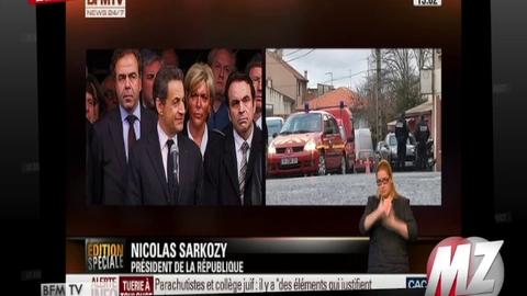 Morandini zap : Discours de Nicolas Sarkozy à Toulouse