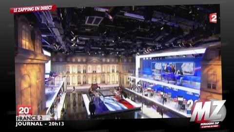 Morandini Zap / Le dispositif de France 2 ce soir pour le premier tour