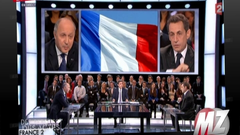 Morandini Zap: Echange tendu entre Nicolas Sarkozy et Laurent Fabius