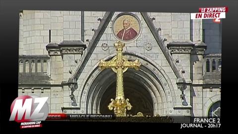 Morandini Zap : L'église reconnait une nouvelle miraculé à LOURDES
