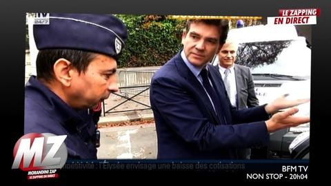 """Morandini zap : """"elle est pas belle ma voiture électrique?"""", A.Montebourg"""