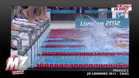 Morandini zap : L'équipe de France médaille d'or en natation