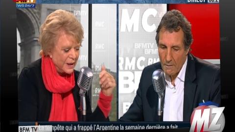 """Morandini zap : Eva Joly attaque Jean-Pierre Elkabbach: """"Il me méprise de tout son être !"""""""