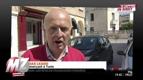 Morandini Zap : Les français qui vivent en Tunisie ont peur