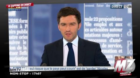 """Morandini Zap/François Bayrou aux journalistes: """"Vous m'emmerdez!"""""""
