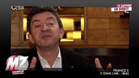 """Morandini zap : """"le gouvernement ne veux pas me voir!, ce sont des enfants"""", Melenchon"""