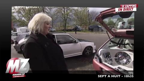 Morandini Zap: Grâce à sa voiture, elle est championne de tuning