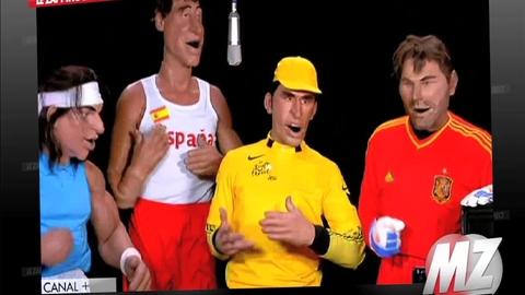 "Morandini Zap: ""Les Guignols de l'info"" s'en reprennent aux sportifs espagnols"