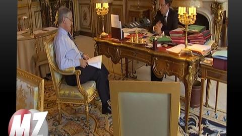 Morandini zap : Hollande, visite guidée de l'Elysée
