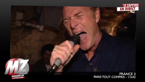Morandini zap : Hondelatte chante dans un karaoké