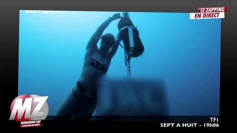Morandini Zap: Il descend à 102m de profondeur en apnée !