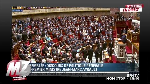 Morandini zap : interruption de séance à l'Assemblée