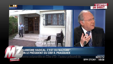 "Morandini zap : ""l'islamisme radicale, c'est du nazisme!"""