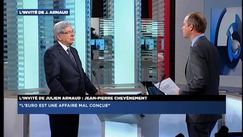 Morandini Zap: Jean-Pierre Chevenement déçu de ne pas avoir de ministres du MRC au gouvernement