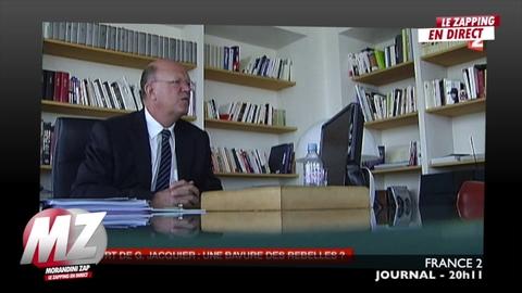 Morandini Zap: Le journaliste Gilles Jacquier victime d'un tir de mortier des insurgés syrien ?