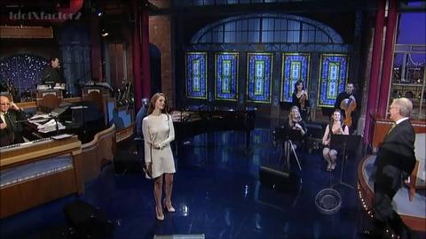Morandini Zap: Lana Del Rey se rattrape chez Letterman