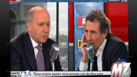 """Morandini Zap/Laurent Fabius: """"Nicolas Sarkozy ne respecte pas ses interlocuteurs"""""""