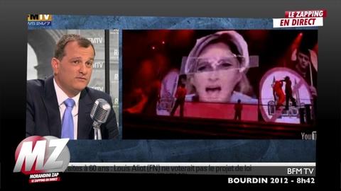 """Morandini zap : Louis Aliot """"Madonna est une vieille chanteuse sur le retour"""""""