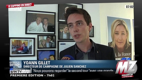 Morandini Zap: Marine Le Pen est arrivée en tête au premier tour dans le département du Gard